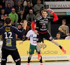 Der HC Erlangen hat mit dem 26:22- Sieg über den TSV GWD Minden die Tabellenführung der zweiten Handball-Bundesliga übernommen.  Foto: hl-studios, Erlangen: Ole Rahmel mit sechs Treffern... www.hc-erlangen.de/ #hcerlangen #hlstudios #handball #hbl #ArenaNuernbergerVersicherung