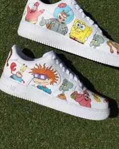 34 Best Cartoon Custom Sneakers Shoes Images In 2020