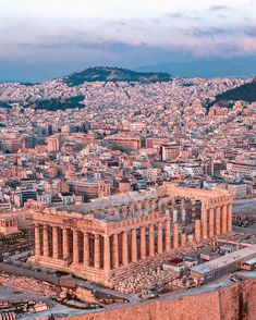Greece Photography, City Photography, Places To Travel, Places To Go, Travel Destinations, Greece Architecture, Athens Acropolis, Visit Usa, Excursion