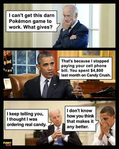 Biden Candy Crush