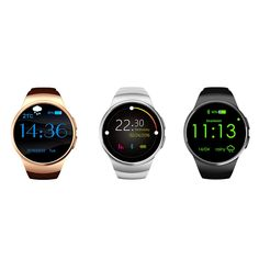 52.51$  Buy here - http://ali73x.worldwells.pw/go.php?t=32778823717 - KW18 Bluetooth 4.0 Smart WatchFitness Tracker Waterproof Watch for IOS Android Phone  Heart Rate SIM Card IPS Screen Smartwatch