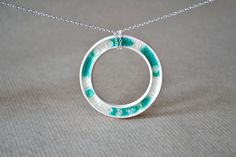 Glass fused ceramic jewellery by JasminBlancBoutique in London, England