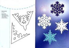 Снежинки танцуют: летают и кружатся,На солнце в морозный денёк серебрятся. Ажурные платья, резные косынки...Волшебное зимнее чудо – снежинки. Снежинки – волшебные спутницы зимы, всегда разные и неповторимые, они неизменно сопровождают каждый Новый год. Снежинки вырезают из бумаги и картона, сочиняют и рассказывают о них стихи Дедушке Морозу. Предлагаю вам коллекцию схем вырезания снежинок из бумаги.