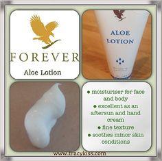 Forever Living Aloe Lotion Www.ourbodyforever.com