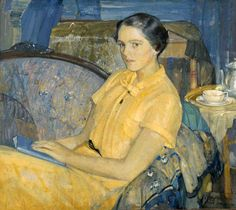 Richard Edward Miller - Portrait of Shelia McManus,1934