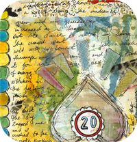 POT - Week 28 Art Journal Page