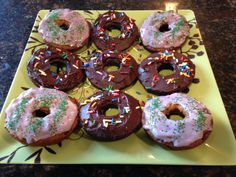 Donuts to Feel Good About!  My kids have missed donuts since we stopped eating gluten.  These little gems are not only gluten and dairy free, but they're actually good for you!  Enjoy!