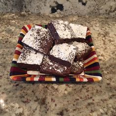 Double Chocolate...need I say more? This recipe is a cleaner version of the usual sugar filled brownies that you make or buy. The thing I love is that these brownies curb that chocolate sweet fix ...