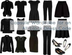 Ask Allie: All Black Capsule Wardrobe Great for the ASL terp!