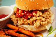 Turkey Maid Rites by Iowa Girl Eats  Lean ground turkey breast is used instead of ground beef in this classic, Midwestern loose-meat sandwich