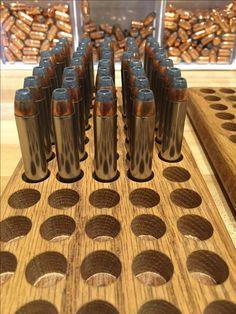 www.pinterest.com/1895gunner | 45/70 Government Brass, H-4198 powder & a Remington 300gr Hollow Point bullet | 1895gunners Reloading Bench! #reloading
