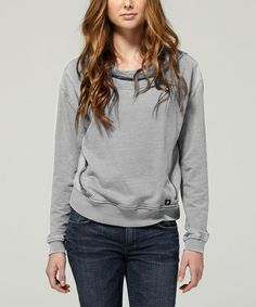 Look what I found on #zulily! Gray Arrow Hoodie - Women by DC #zulilyfinds