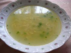 Cestovinová polievka, lahodná, jednoduchá