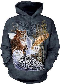 Find 11 Owls Adult Hoodie S... Owl Hoodie 16da2117b7