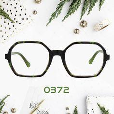 310f4296c2 Mirabelle Geometric Green Floral Glasses FA0372-01 Prescription Glasses  Online