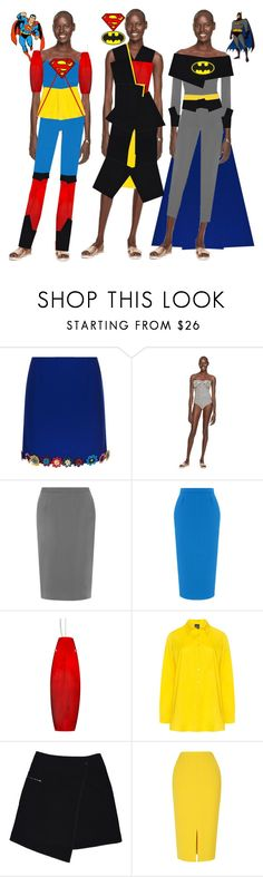 """""""Fashion Collection"""" by coppin-s ❤ liked on Polyvore featuring Mary Katrantzou, Kate Spade, WearAll, Roland Mouret, Besa Lighting, Persona and MARC CAIN"""
