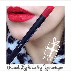The perfect Red for Christmas, give it as a gift or treat yourself! Long wearing, waterproof, smudge proof and kiss proof! www.fabulashmakeover.com