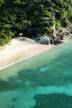 note: I love open, untamed beach areas…