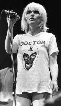 Debbie Harry Blondie From Playboy Bunny To The Originator Of New Wave Tomorrow