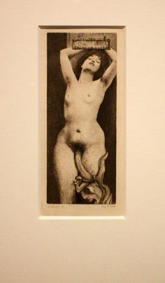 """La décadence "", 1888 de Fernand Khnopff"