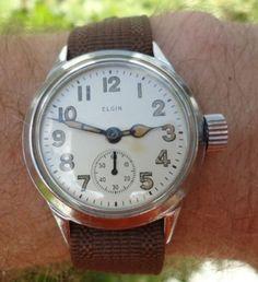Elgin WWII Watch