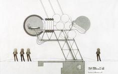 Coop Himmelb(l)au, Villa Rosa (pneumatic dwelling unit), 1968