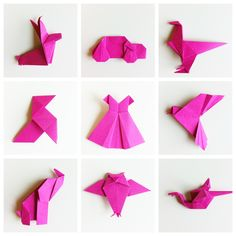 Easy origami shapes!