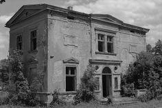 Prusinowo manor house built for the Szułdrzyński family in the 2nd half of the 19th century. Poland.