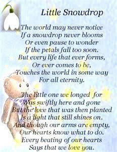 Little Snowdrop Poem Amazing Grace My Chains Are Gone Org Poem Little Snowdrop Baby Poems Angel Baby Poem Funeral Poems