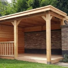 douglas houten veranda
