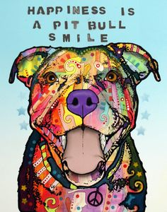 """SMILE"" by Dean Russo Art"