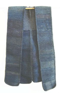 A Sakiori Work Vest or 'Sodenashi' on Sri threads