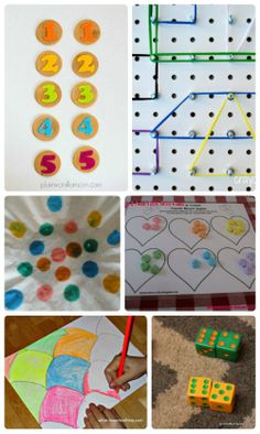 Enjoy some colorful learning with these wonderful hands-on math activities!