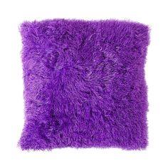 Elemis Cushion Fab Fur Purple 45cm x 45cm