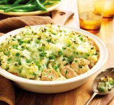 Fish And Potato Pie With Mash Recipe | Yummly