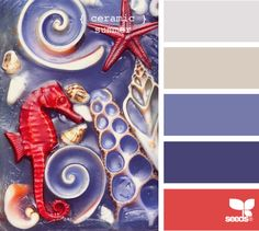 LOVE this site!  Takes art or life and finds the color palette for it for your decorating use