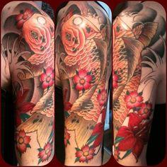 Hannah Westcott @ lucky 13 tattoo in Leicester