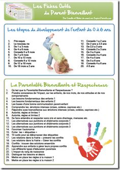 "La ""V2"" des Fiches Outils du Parent Bienveillant Education Positive, Baby Education, Positive Mantras, Positive Mind, Lifehacks, Games For Kids, Activities For Kids, Curriculum, Homeschool"