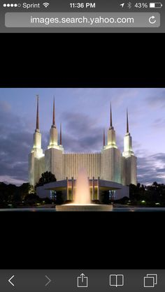 The Washington DC Temple will always captivate me