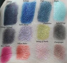 Meow Cosmetics Times Square Collection Review and Swatches. Click through to read more!