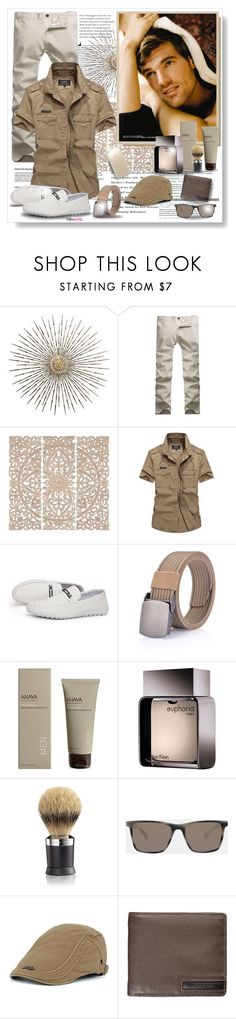 """Newchic"" by asia-12 ❤ liked on Polyvore featuring Home Decorators Collection, Ahava, Calvin Klein, The Art of Shaving, Ted Baker, Speck, men's fashion, menswear and newchic"