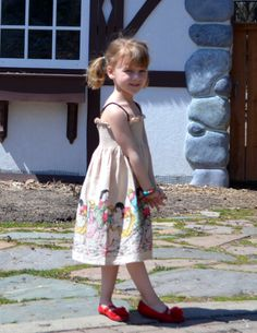 Paper Wings Clothing StoryBook Dress www.crookedlittlepath.com