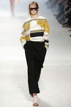 @roressclothes clothing ideas #women fashion white sweater, black pants