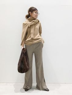 Ladies Fashion, Women's Fashion, Fall Winter, Autumn, Dressed To Kill, Normcore, Classy, Pants, Outfits