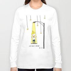 #Illustration on a #shirt #lastnight I #dreamt #Society6 #shop