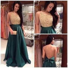 Vestido de gala lindo