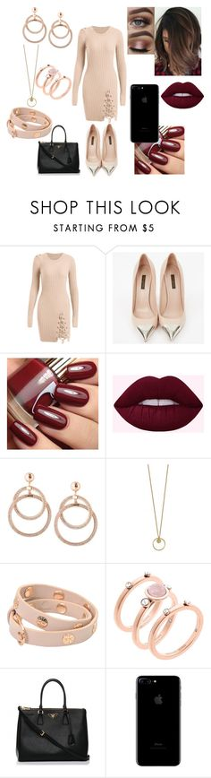 """""""Fall First Date"""" by shayma-sheikh ❤ liked on Polyvore featuring Louis Vuitton, Tory Burch, Michael Kors and Prada"""