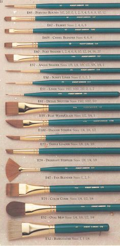 art drawing painting Brushes