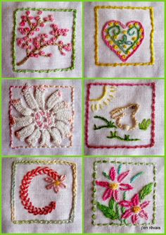 Embroidery Sampler, Hand Embroidery, Quilting Board, Stitch Book, Prayer Flags, Heart Crafts, Charm Pack, Beaded Lace, Tatting