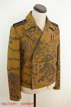German Palm tree Autumn(Fall) camo panzer wrap/jacket